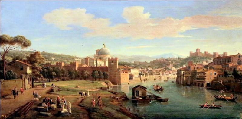 Caspar van Wittel, peintre néerlandais du siècle d'or, a joué un rôle crucial dans l'épanouissement du genre de peinture topographique en une spécialité de l'art italien (veduta). ll est connu sous un nom italianisé, qui n'est d'autre que...