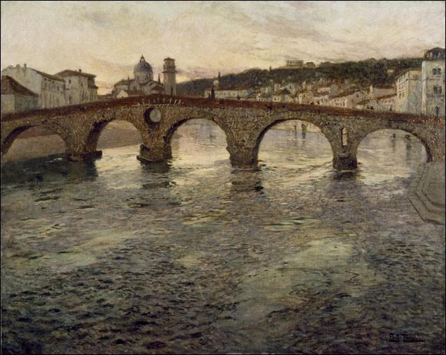 Quel fleuve, le second plus long d'Italie, donne à Vérone sa beauté ?