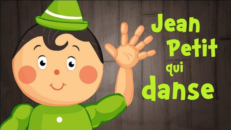 'Jean Petit qui danse' est une chanson de quelle origine ?