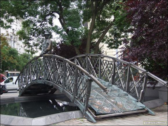 De quoi était fait le petit pont d'Yves Duteil ?
