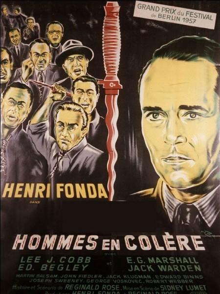 Combien d'hommes étaient en colère dans le film de Sidney Lumet ?