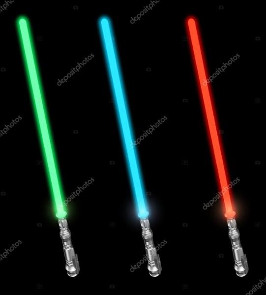 De quelle couleur est ton sabre laser ?