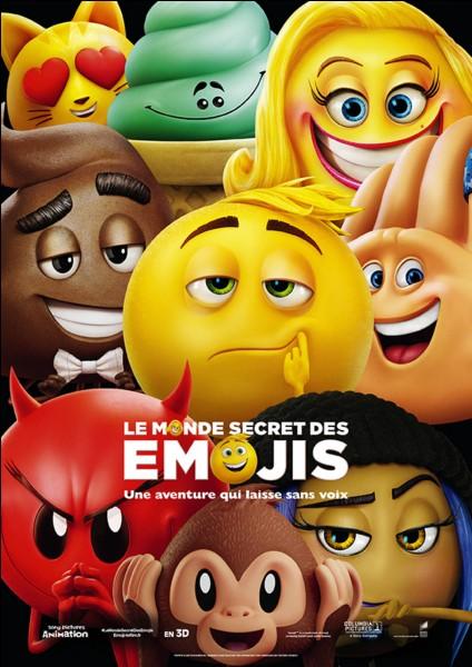 """Cinéma : le film """"Le monde secret des emojïs"""" a été élu le pire film de l'année 2018."""