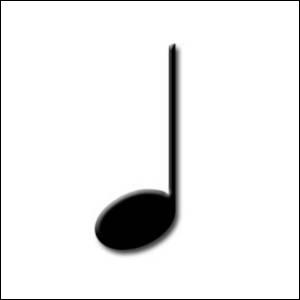En musique, comment appelle-t-on le silence qui dure le temps d'une noire ?