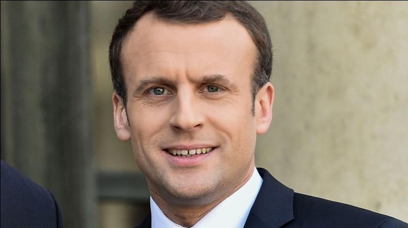 Emmanuel Macron est le président de la France !