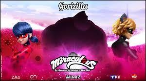 """Dans """"Gorizilla"""", à la fin de l'épisode, quand Alya a téléphoné à Marinette, combien de barres de batterie le téléphone de cette-dernière indiquait-il ?"""