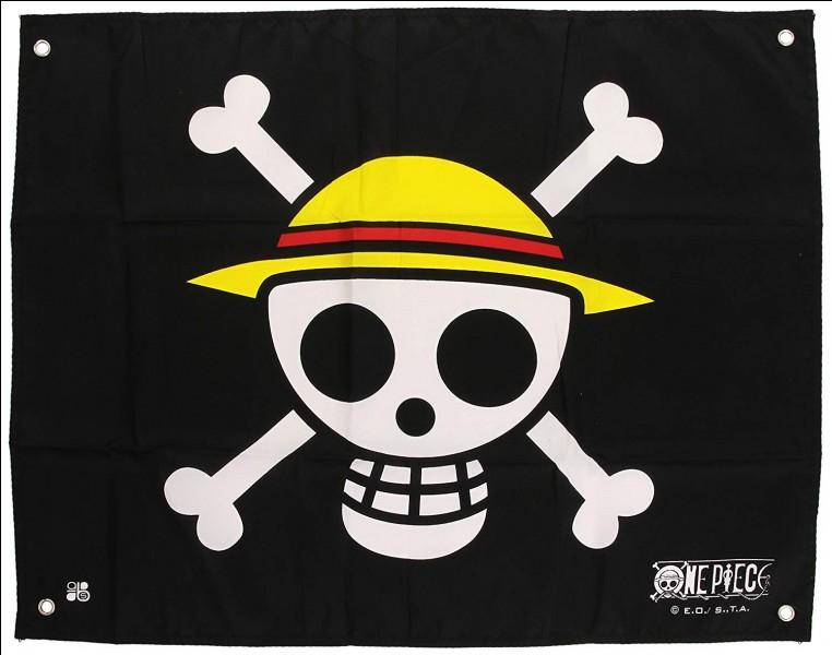 Qui a créé le drapeau de l'équipage du Chapeau de Paille ?
