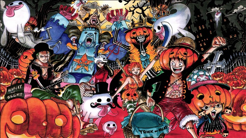 En comptant Luffy quel est le sixième membre de l'équipage du Chapeau de Paille ?