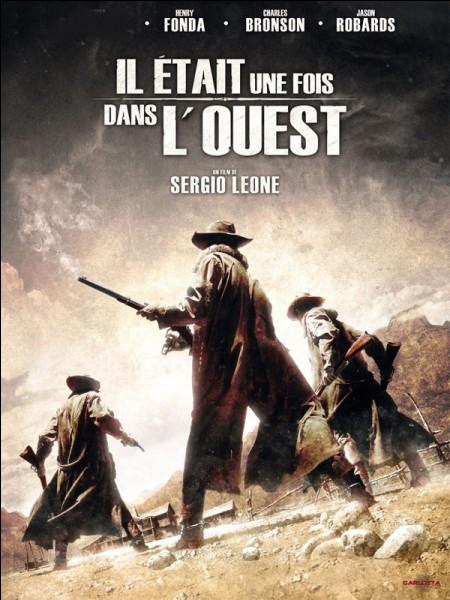 """Dans le film """"Il était une fois dans l'Ouest"""" quelle actrice partage l'affiche avec Henry Fonda, Charles Bronson et Jason Robards ?"""