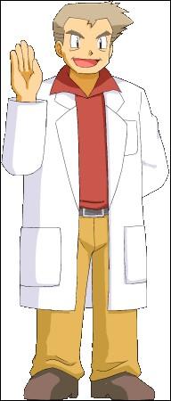 Quel est le nom du professeur de Kanto ?