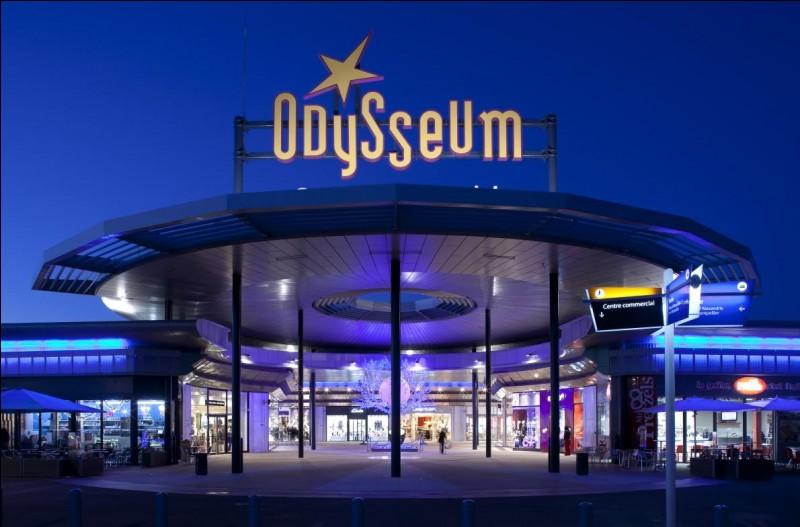 """Laquelle de ces villes de France possède un centre commercial nommé """"Odysseum"""" ?"""