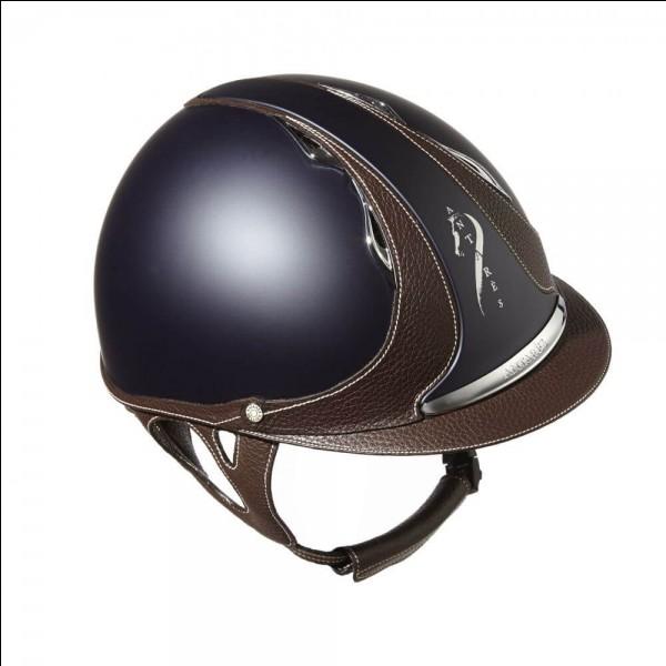En équitation, comment se nomme le casque ?