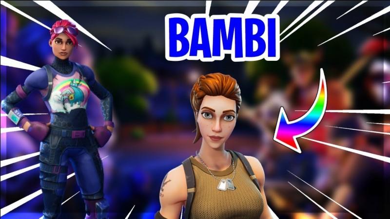 """Combien y a-t-il de skins """"Bambi"""" ?"""