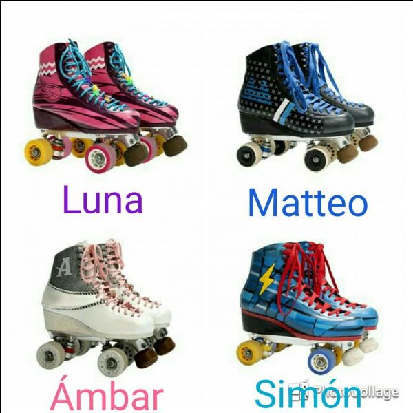 Aimes-tu les clips avec des patins ?
