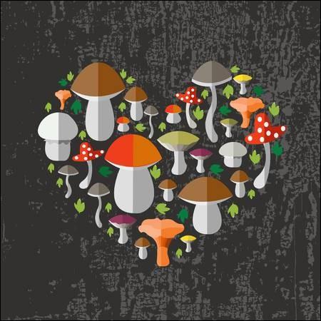Lequel de ces champignons n'est pas comestible ?