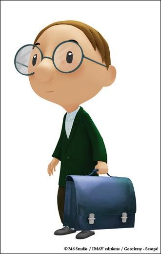 """Dans """"Le Petit Nicolas"""", comment s'appelle le garçon avec des lunettes ?"""