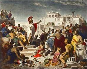 Dans l'Antiquité, quelle cité grecque a vaincu Athènes ?