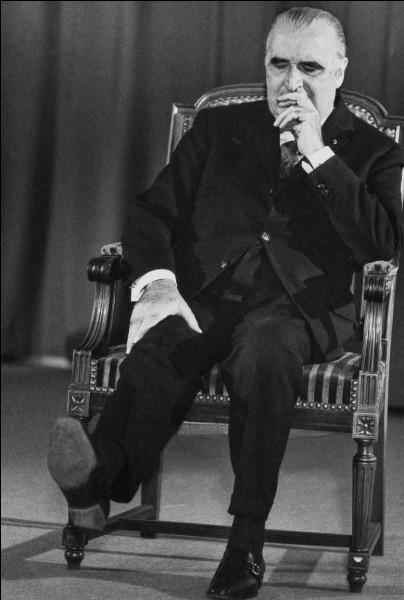 Quel président de la République française a succédé à Georges Pompidou ?