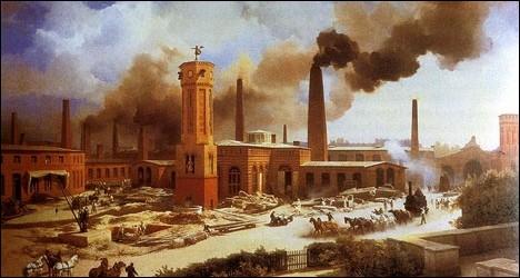 À quel siècle a eu lieu la révolution industrielle en France ?