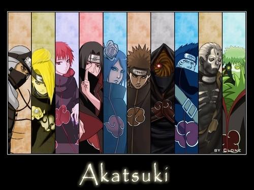 Aimes-tu l'Akatsuki ?