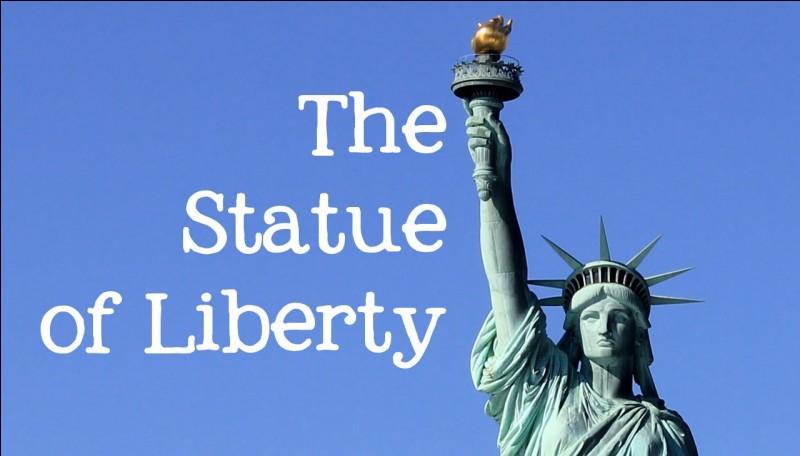 Sur quelle île se situe la statue de la Liberté, à New York ?