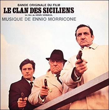 """Et enfin, Jean-Pierre Melville a tourné le film """"Le Clan des Siciliens""""."""