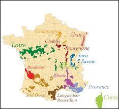 Lequel de ces vins est produit en France ?