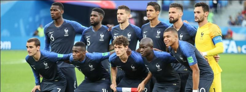 Sélectionne le nombre obtenus par la France lors des matchs de poule.