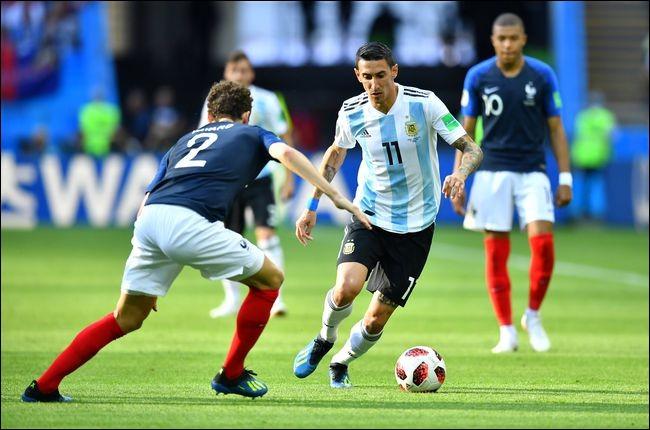 Quel joueur français a fait un doublé contre l'Argentine ?