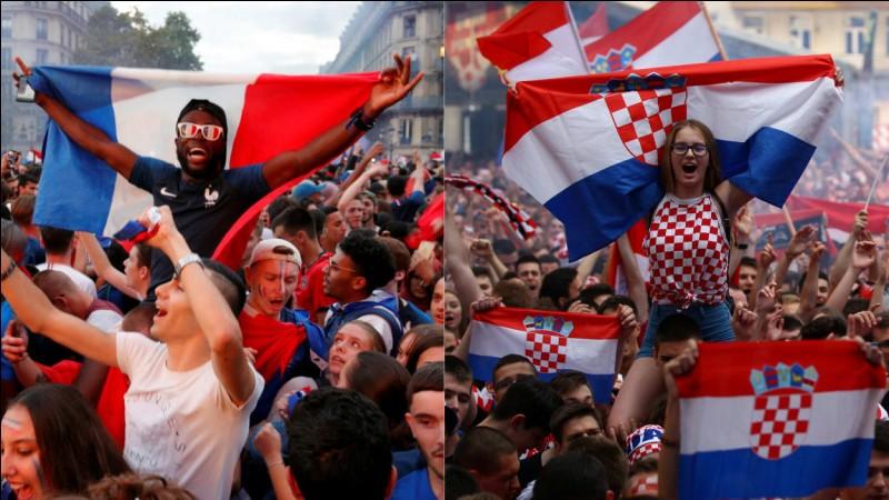 Quel est le score de la finale contre la Croatie ?