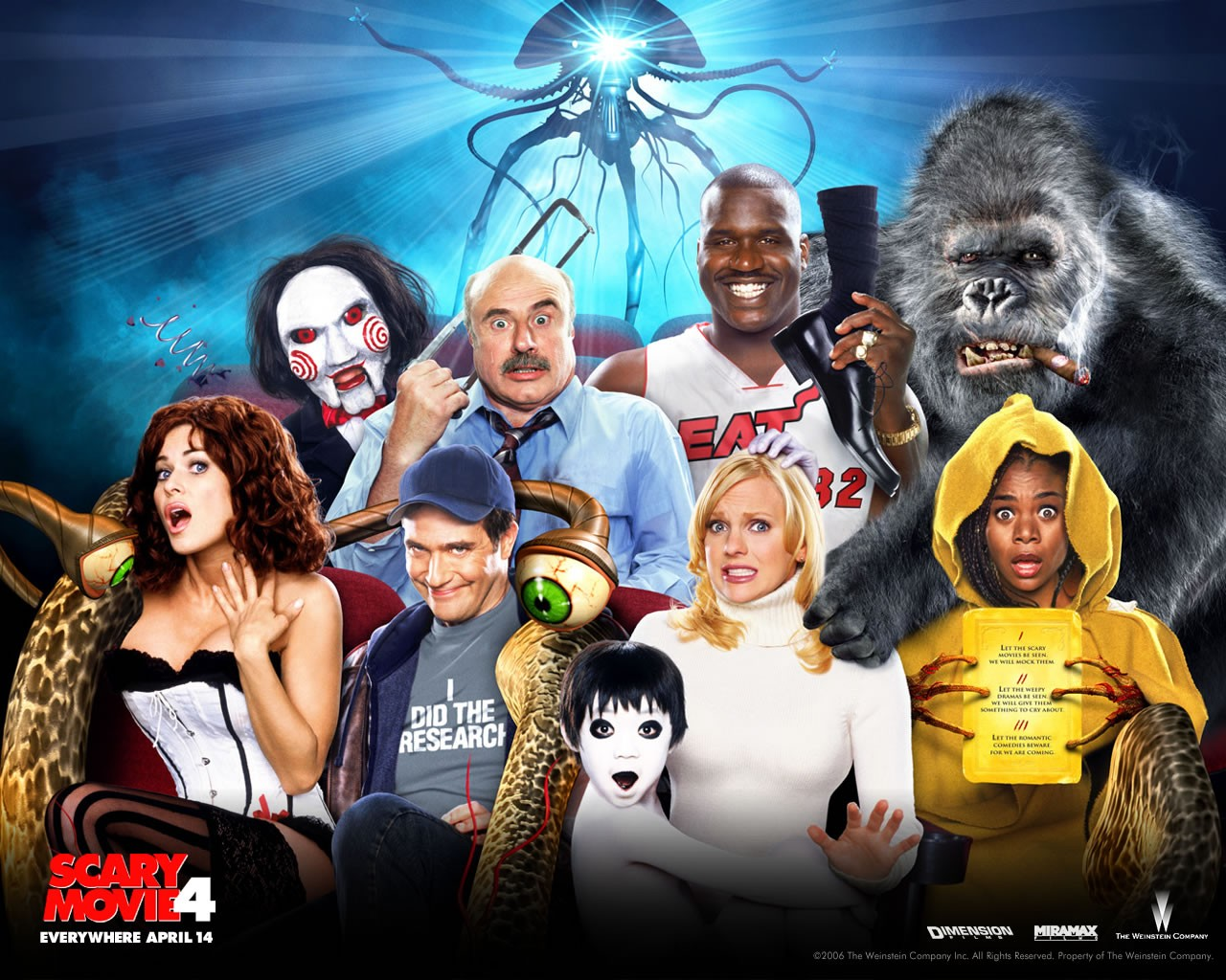 Scary Movie 4 - Les personnages