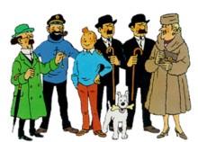 Quel personnage de Tintin es-tu ?