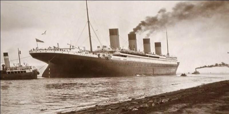 Où se rendait le Titanic ?