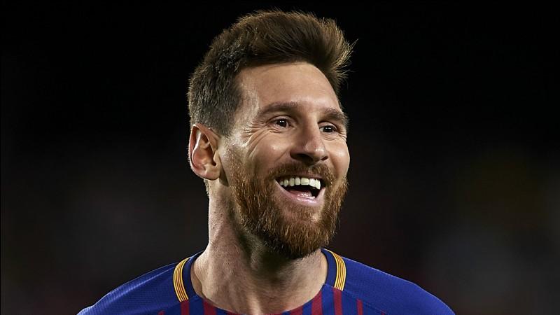 Lionel Messi fait...