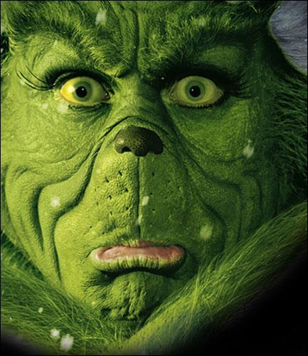 Qui se cache sous le masque affreux du 'Grinch' ?