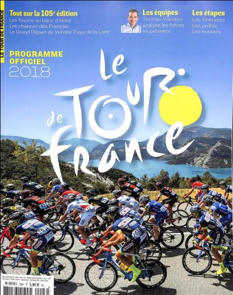 Quel coureur cycliste vient de remporter l'édition 2018 du Tour de France ?