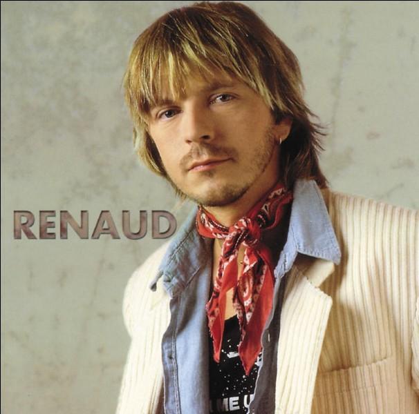 """De quelle chanson de Renaud, les paroles : """"J'étais tranquille, j'étais peinard- Accoudé au comptoir """" sont-elles extraites ?"""