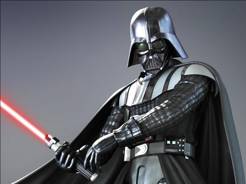 Quel est le nom de Sith d'Anakin Skywalker ?