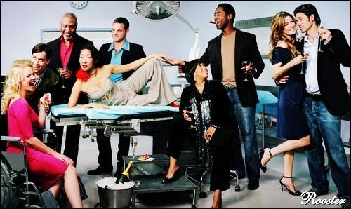 Quelle actrice de Grey's Anatomy apparaît dans la saison 10 de Friends ?