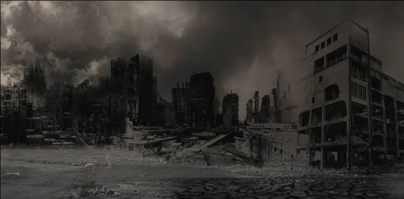 Et enfin, tu apprends qu'il va y avoir une apocalypse très prochainement, que fais-tu ?