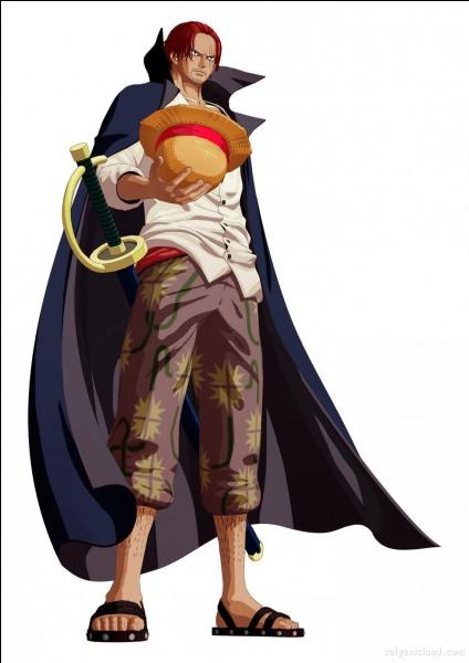 Par qui Luffy obtient-il son chapeau de paille ?