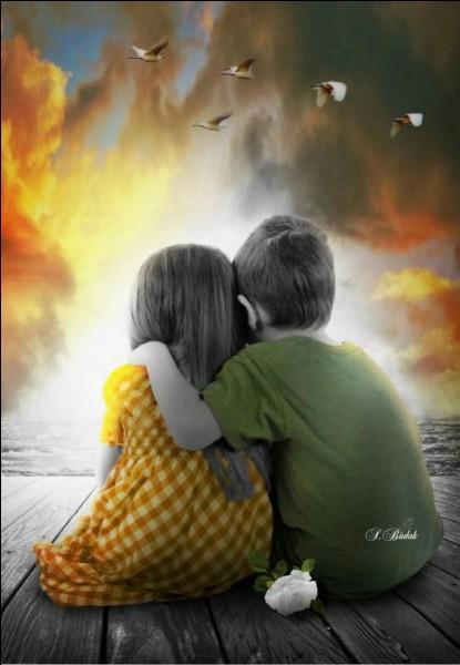 """Qui chantait """"La tendresse, c'est un geste, un mot un sourire quand on oublie que tous les deux on a grandi"""" ?"""