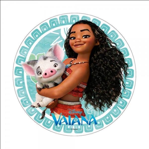 Où est Pua, le petit cochon ami de Vaiana depuis son enfance ?