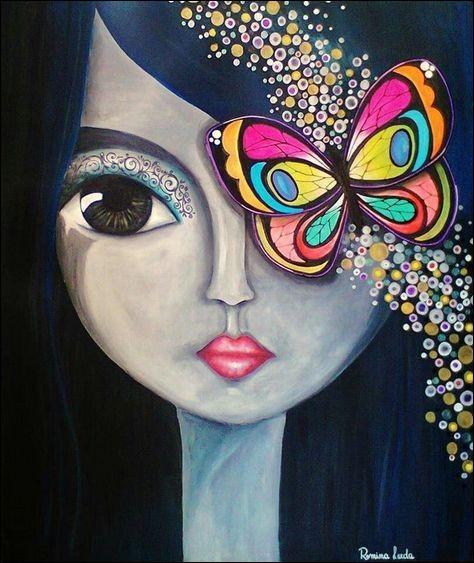 """Qui interprétait les paroles """"Lorsque tu soulignes au crayon noir tes jolis yeux....moi je m'imagine que ce sont des papillons bleus"""" ?"""