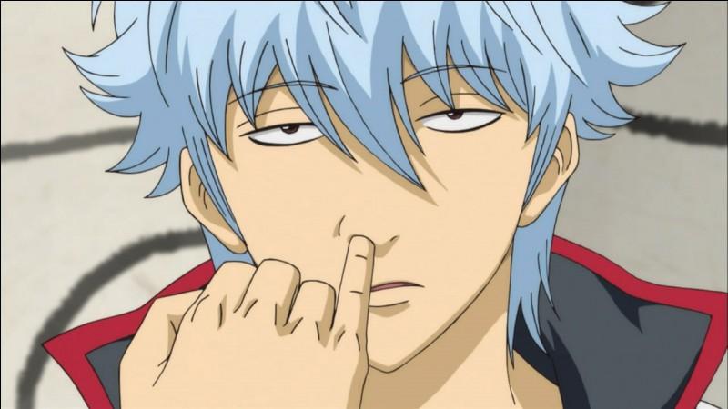 """Dans """"Gintama"""",Lors de la guerre contre les amantos, comment était surnommé Gintoki ?"""