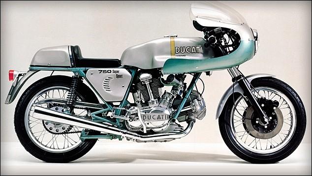 Le système de rappel de soupapes est la particularité des Ducati.