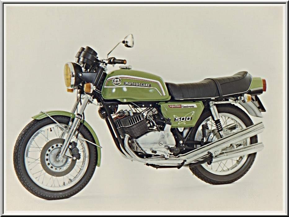 Motos des années 70 - Vrai ou faux