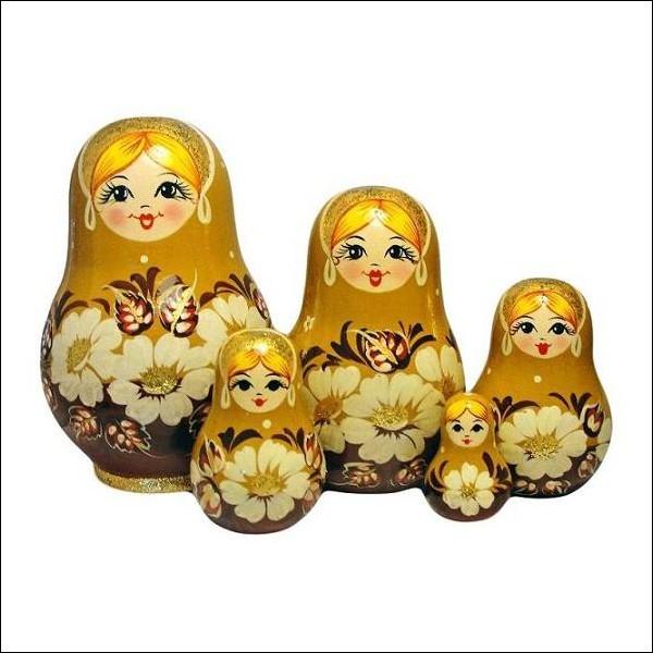 Comment appelle-t-on ces poupées russes de tailles décroissantes placées les unes à l'intérieur des autres ?