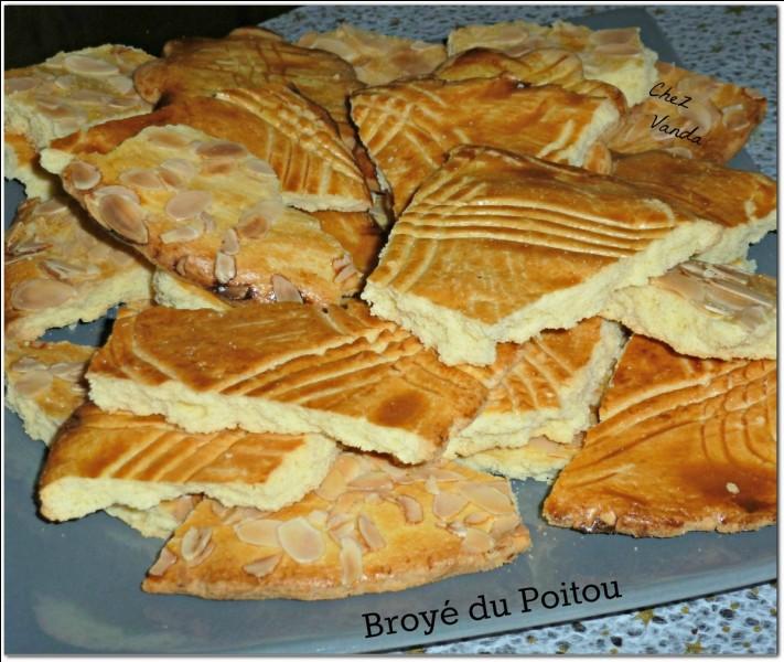 Comment partage-t-on le broyé du Poitou, grand format, à la manière traditionnelle poitevine ?