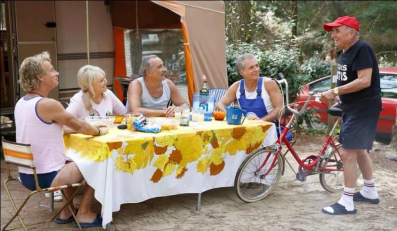 Quel acteur incarne Patrick Chirac, le héros des films ''Camping'' ?